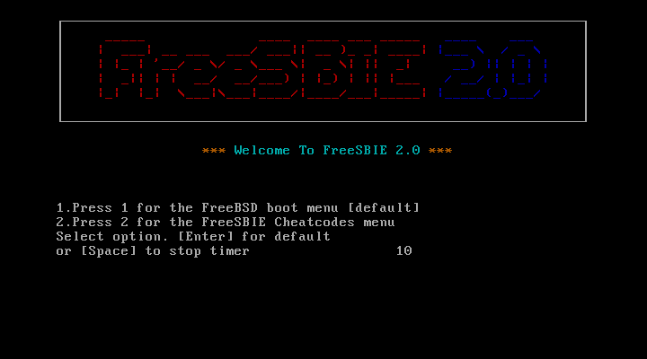 FreeSBIE 2 0 Release Notes, Handbook and FAQ